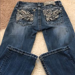 Miss me mid rise boot jeans size 24